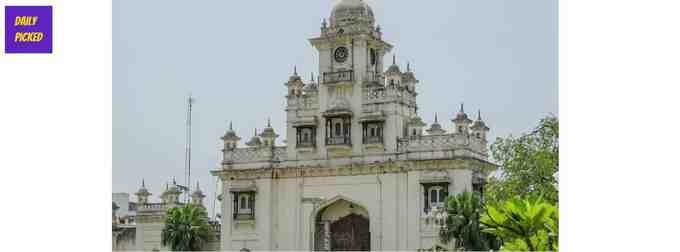 Western Gate Clock Tower of Chowmahalla Palace