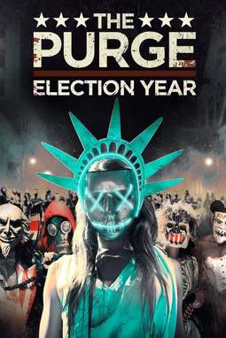 movie poster of The Purge: Election Year