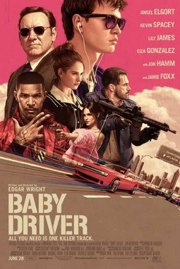 movie poster of Baby Driver