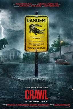 movie poster of Crawl