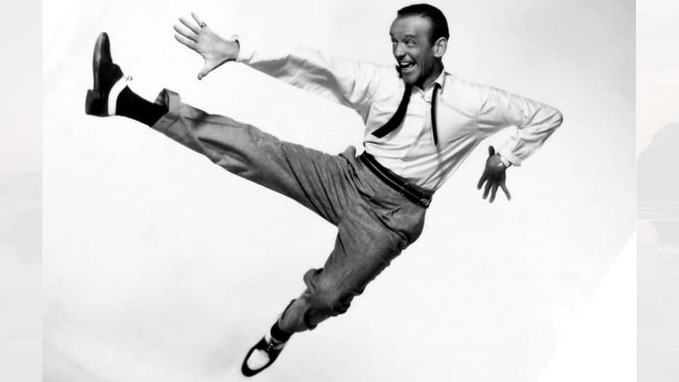 Fred Astaire dancing