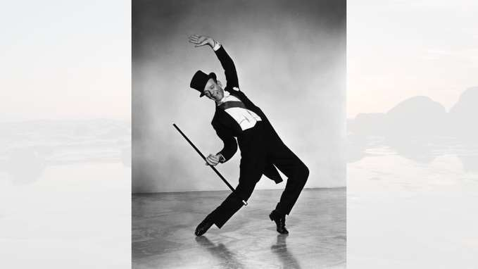 Fred Astaire dancing photo