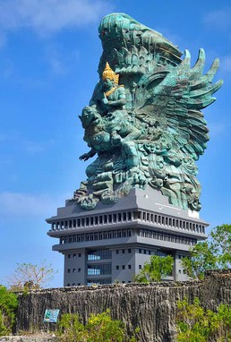 photo of Garuda Vishnu Kencana statue, Indonesia
