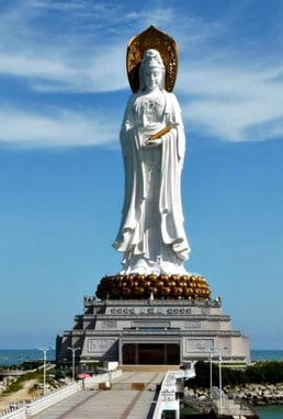 photo of Guanyin of Nanshan, China