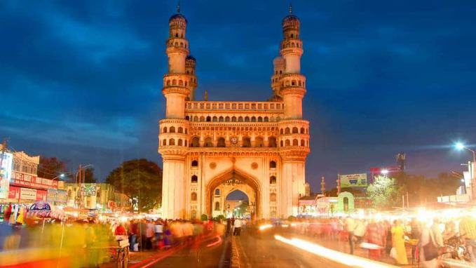 image of charminar in hyderabad
