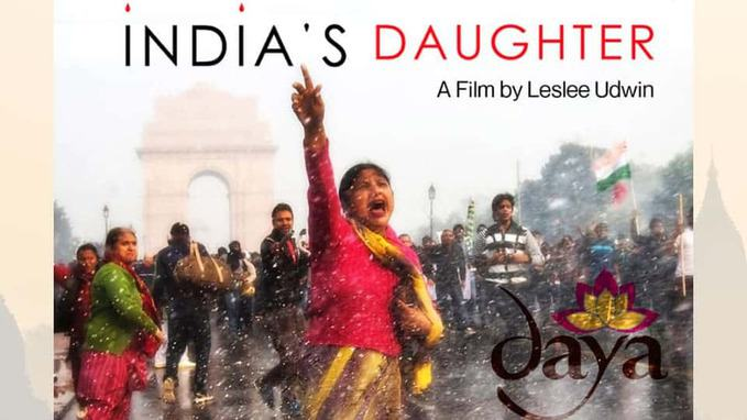 Poster of BBC Documentary India's Daughter