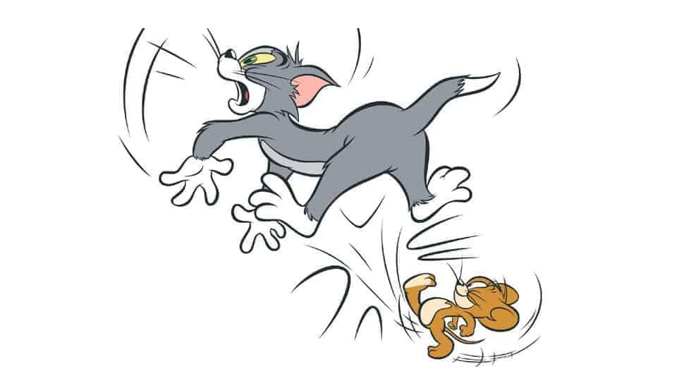 jerry kicking tom