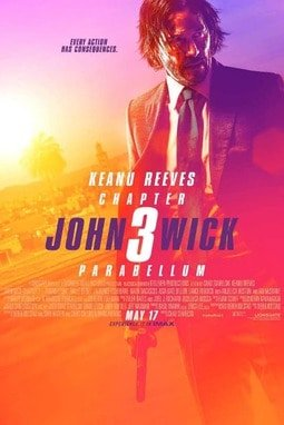 movie poster of John Wick: Chapter 3 Parabellum