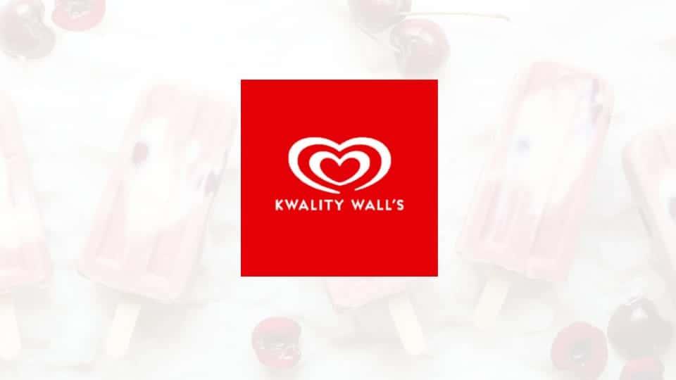 Kwality wall's ice cream logo