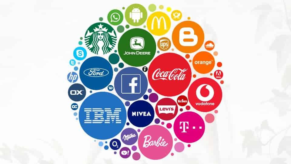 Top brands logos