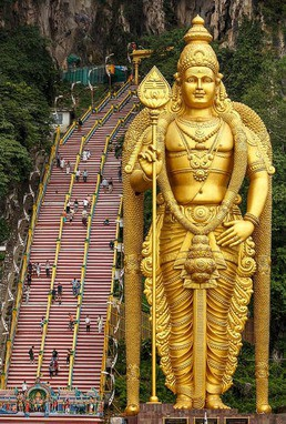 photo of master-murugan-statue,-malaysia