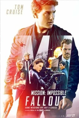 movie poster of Mission: Impossible — Fallout