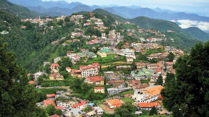 photo of Mussoorie city