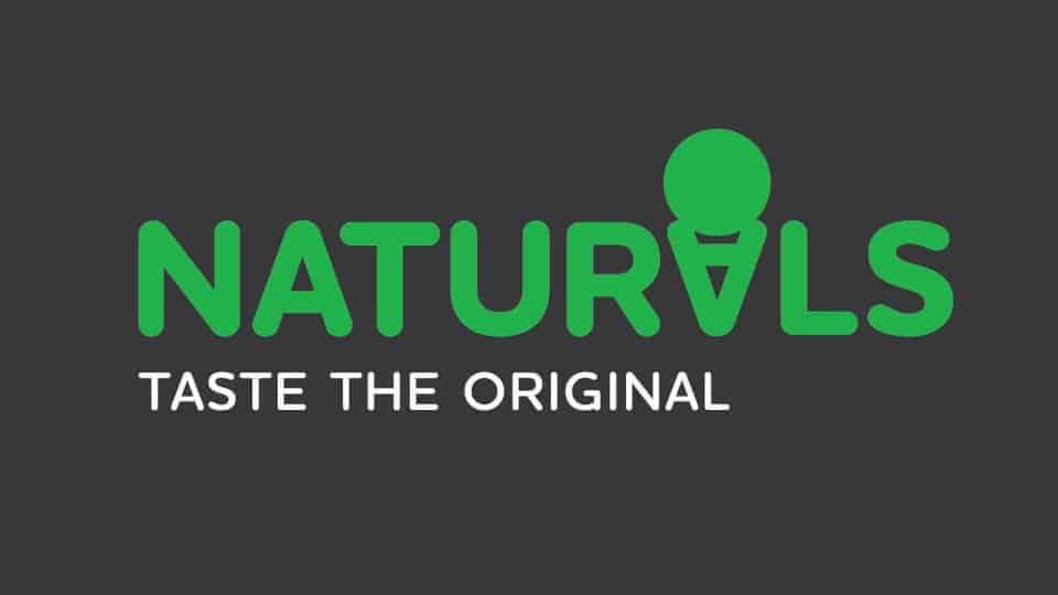 Naturals ice cream logo