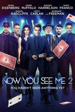 movie poster of Now You See Me 2