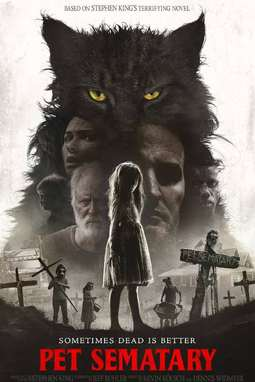 movie poster of Pet Sematary
