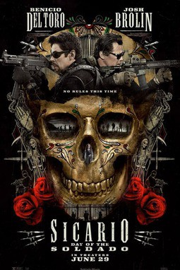 movie poster of Sicario: Day of the Soldado