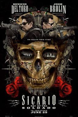movie poster of Sicario: Day of the Soldado