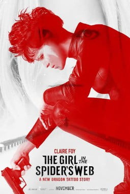 movie poster of The Girl in the Spider's Web