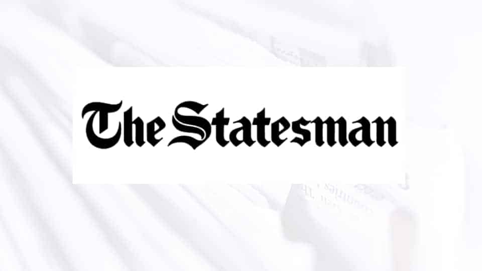the statesman news paper logo