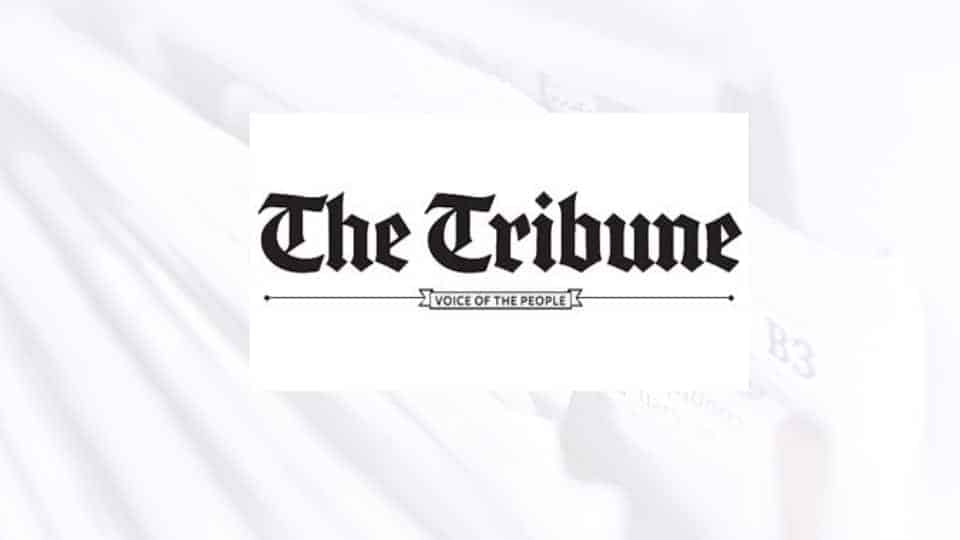 the tribune news paper logo