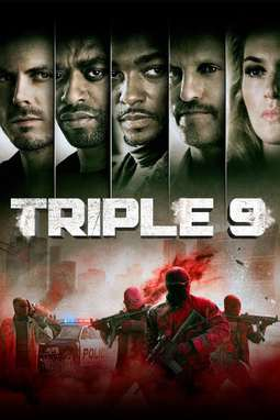 movie poster of Triple 9