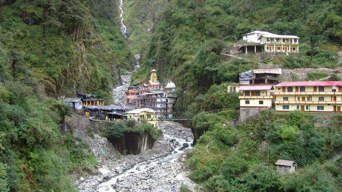 image of Yamunotri Temple