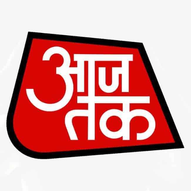 logo of AAJ TAK youtube channel
