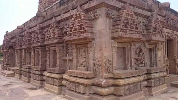 alampur jogulamba temple architecture