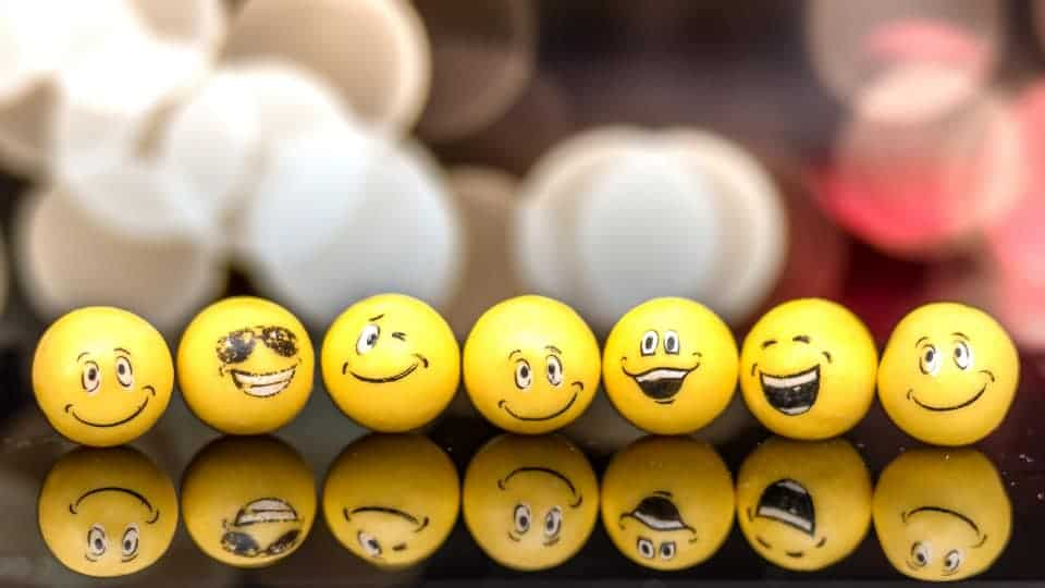 different kinds of emojies
