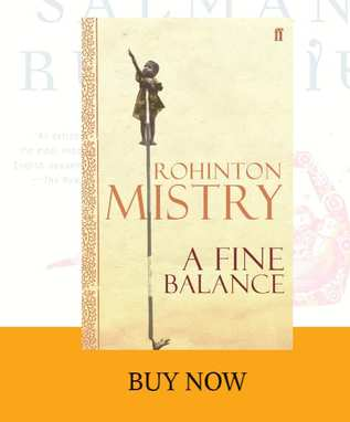 front cover of A Fine Balance book