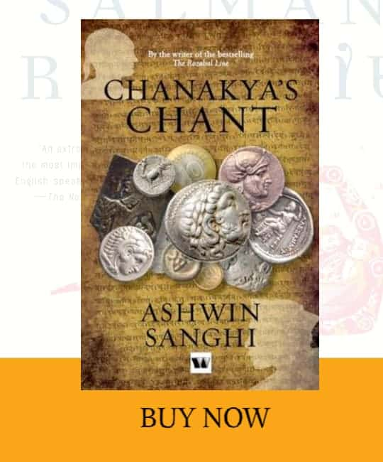 front cover of Chanakya's Chant book