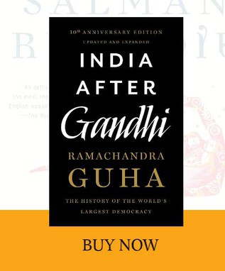 front cover of india after gandhi book