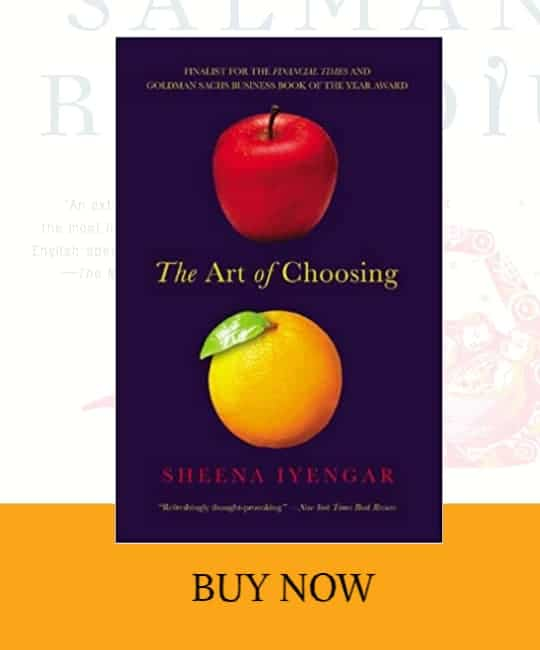 front cover of The Art of Choosing book