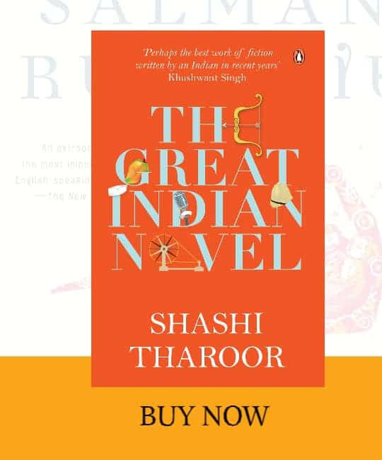 front cover of The Great Indian Novel book