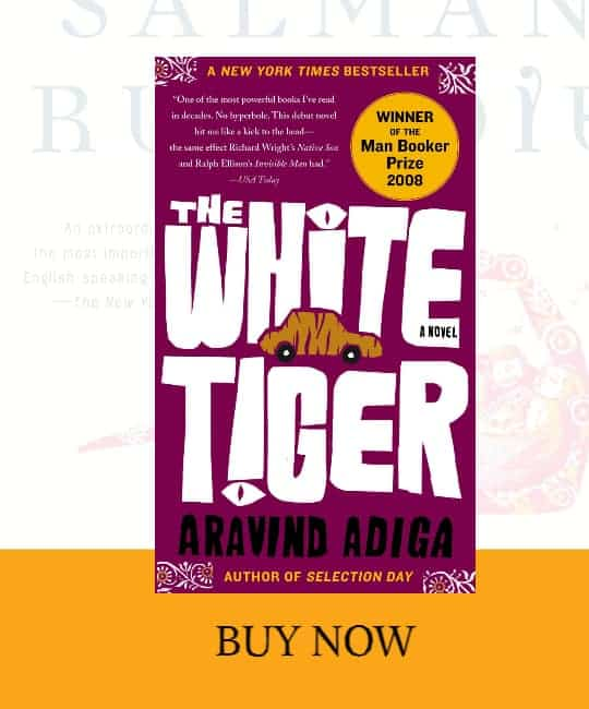 front cover of The White Tiger book