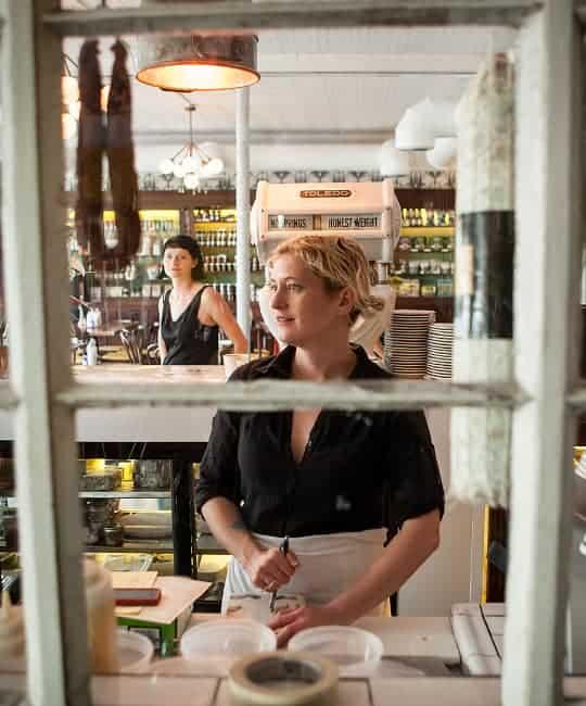 photo of chef Sonya Cote