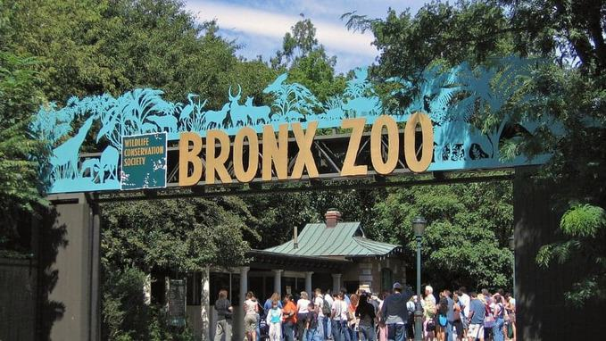 Entrance gate of The Bronx Zoo