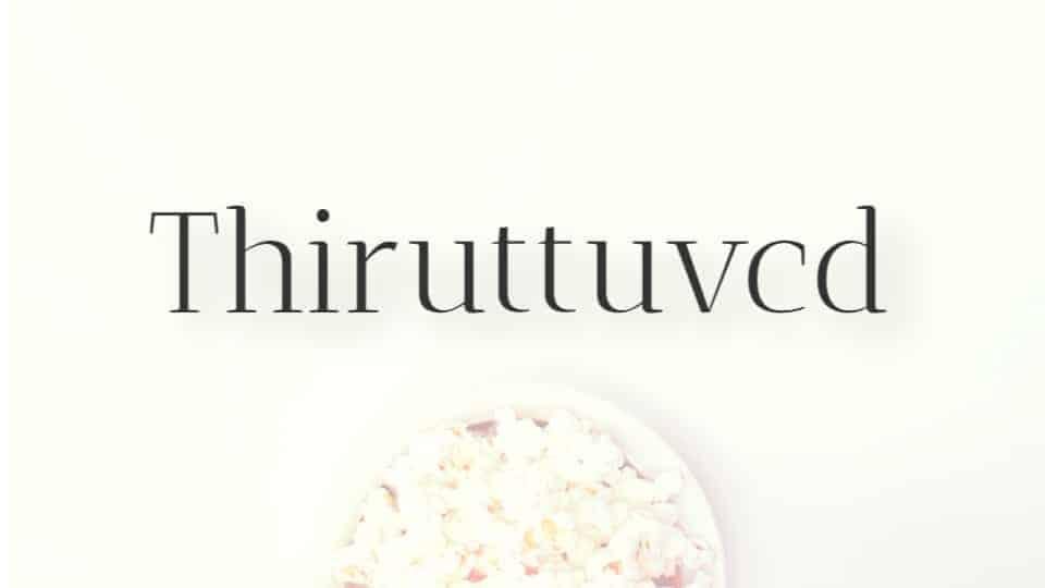 Thiruttuvcd logo