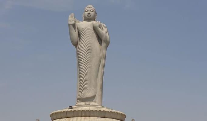 Buddha In Hussain Sagar