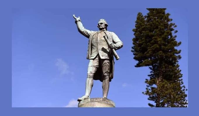 Captain Cook Statue Landmark