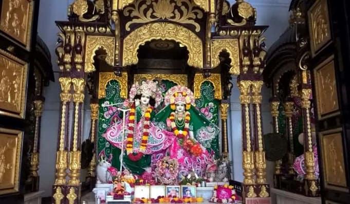 Idols in Iskon Temple
