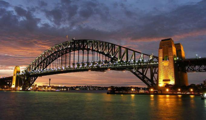 Sydney Harbor Bridge Landmark