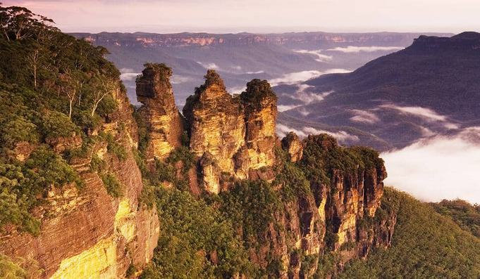The Three Sisters Landmark
