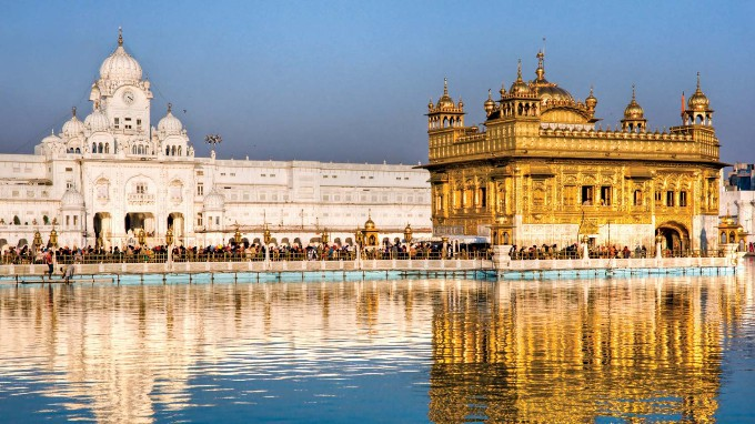 Golden Temple In Punjab State