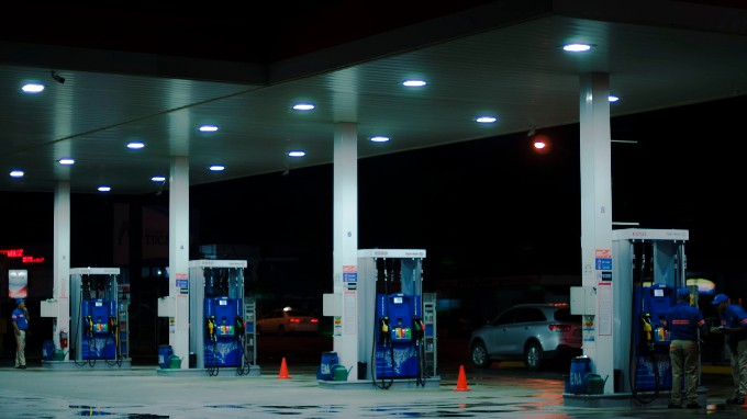 Image Of A Petrol Bunk