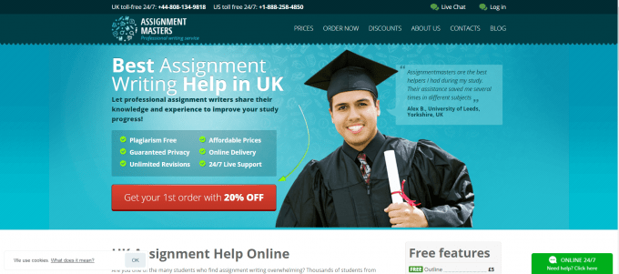 Assignmentmasters Website