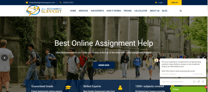 All Assignment Support Website