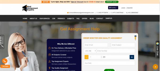 Bestassignmentexperts Website